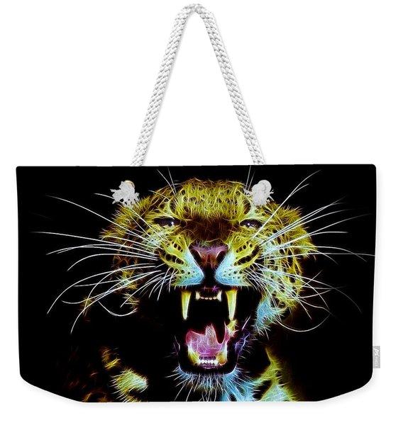 Panther Weekender Tote Bag