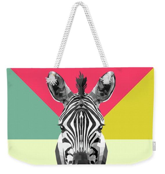 Party Zebra  Weekender Tote Bag