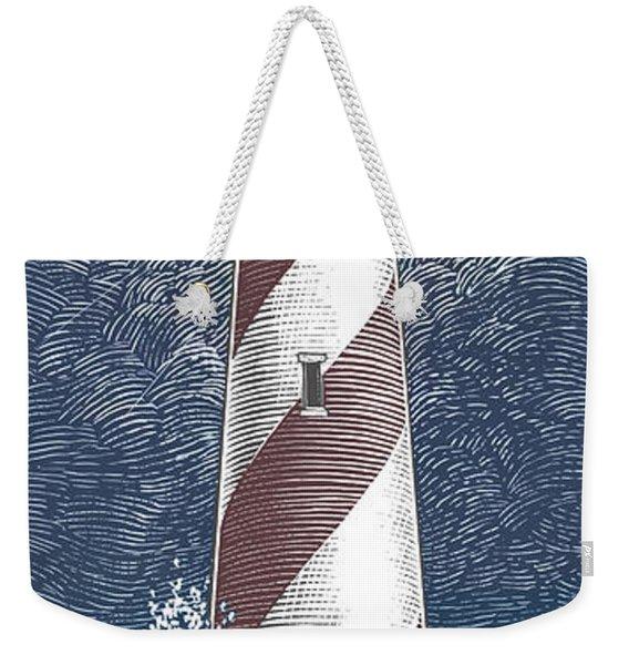 Peace In The Storm Weekender Tote Bag