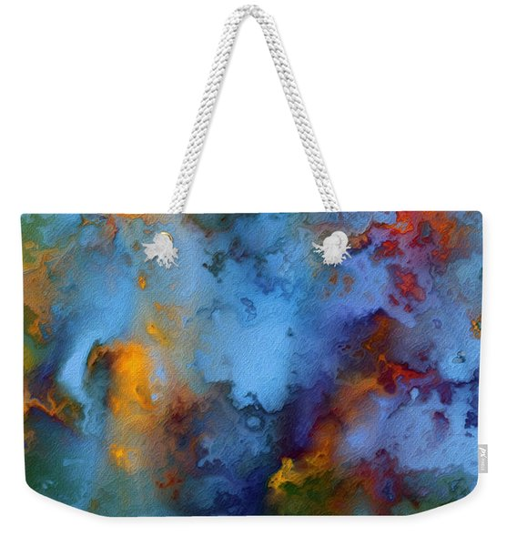 1 Peter 5 7. He Cares For You Weekender Tote Bag