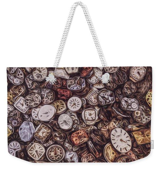 Pieces Of Time Weekender Tote Bag