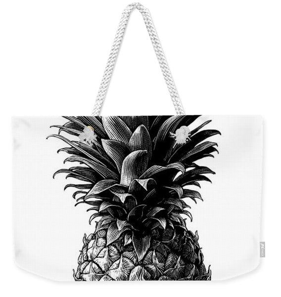 Pineapple Weekender Tote Bag