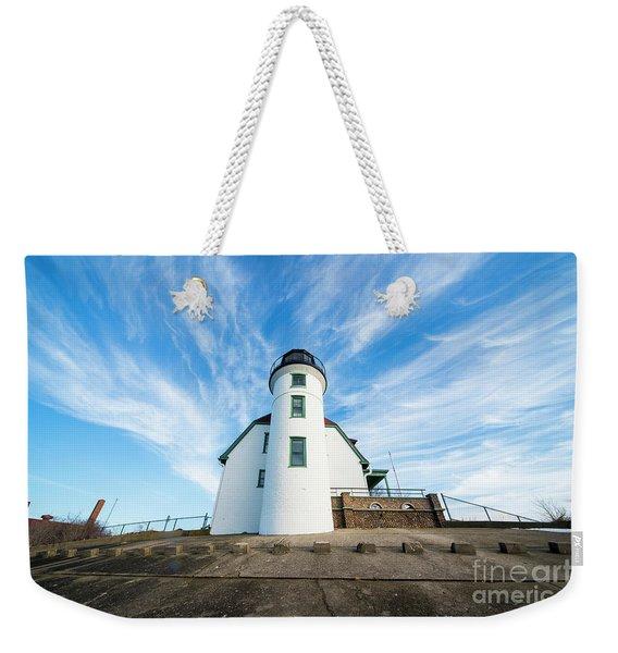 Point Betsie Sky Weekender Tote Bag