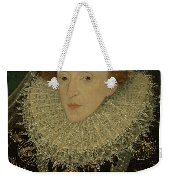 Portrait Of Queen Elizabeth I Weekender Tote Bag