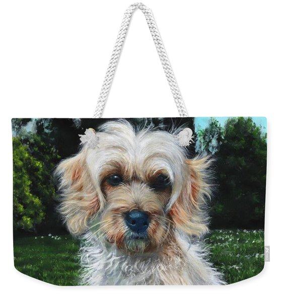 Portrait Of Toffee Weekender Tote Bag