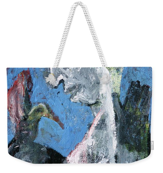 Portrait With A Bird Weekender Tote Bag