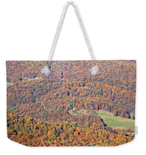 Rainbow Valley Weekender Tote Bag