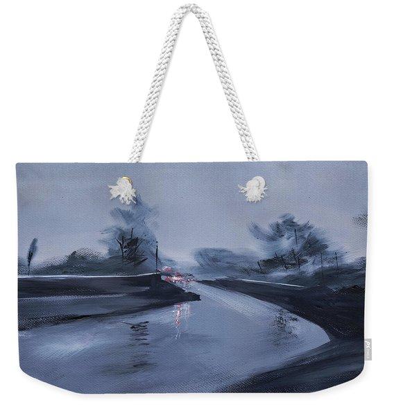 Rainy Day New Weekender Tote Bag