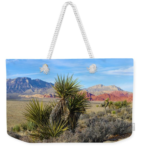 Red Rock Canyon National Conservation Area Weekender Tote Bag