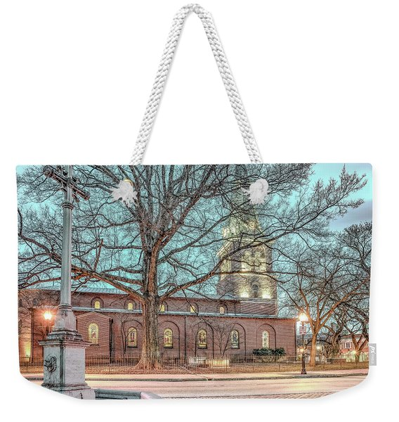 Saint Annes Circle With Fountain Weekender Tote Bag