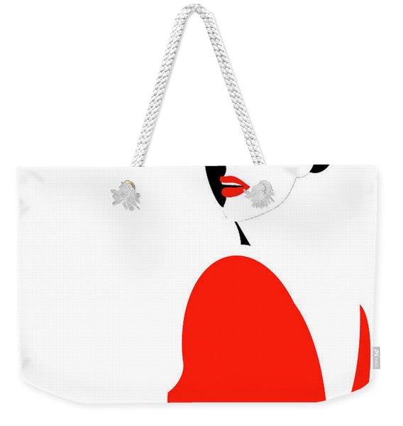 Scarlet Woman 1 Weekender Tote Bag