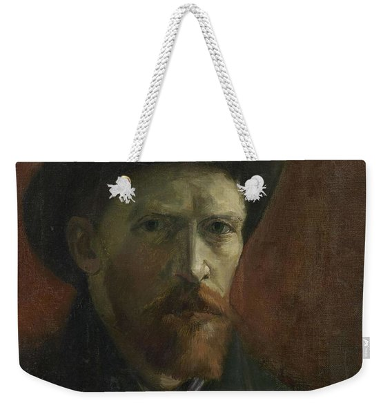 Self-portrait With Felt Hat Weekender Tote Bag