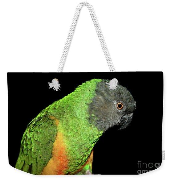 Senegal Parrot Weekender Tote Bag