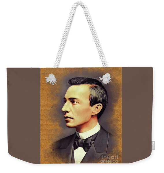 Sergei Rachmaninoff, Music Legend Weekender Tote Bag