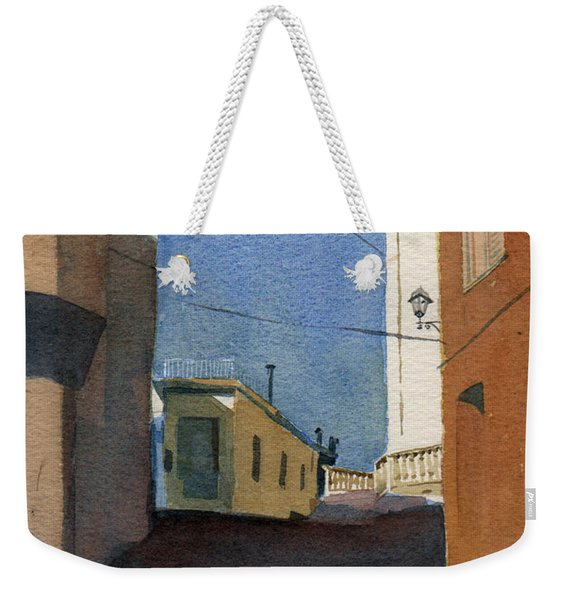 Sersale Street Weekender Tote Bag