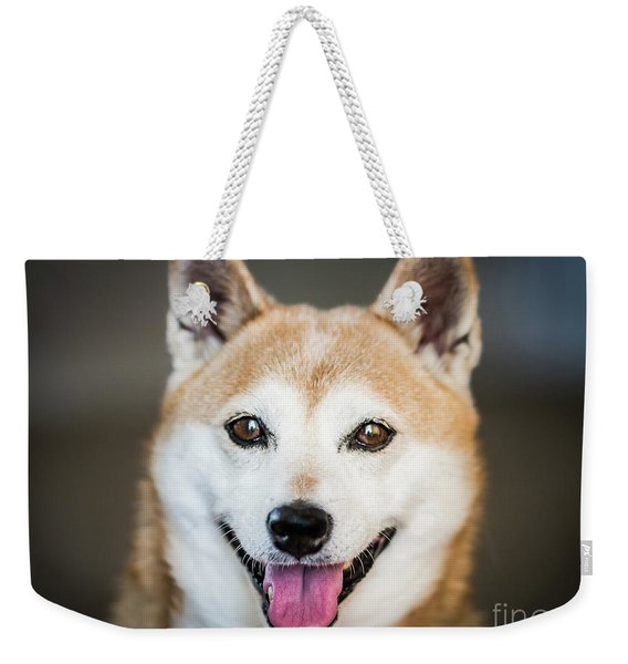 Shiba Inu Weekender Tote Bag