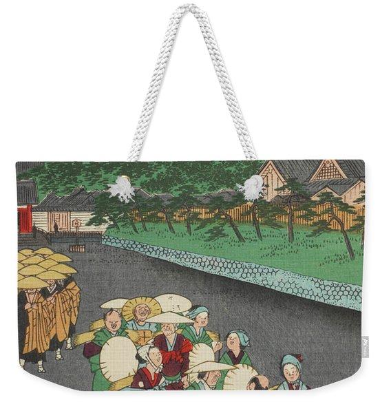 Shiba Shinmei Shrine Weekender Tote Bag