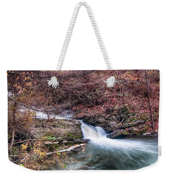 Small Falls Weekender Tote Bag