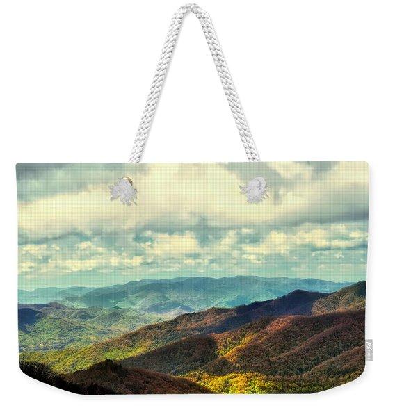 Smoky Mountain Memory Weekender Tote Bag