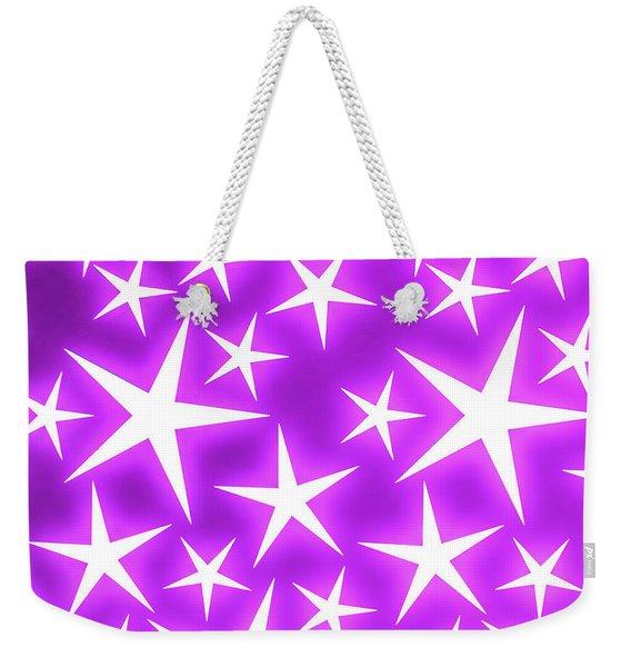 Star Burst 2 Weekender Tote Bag