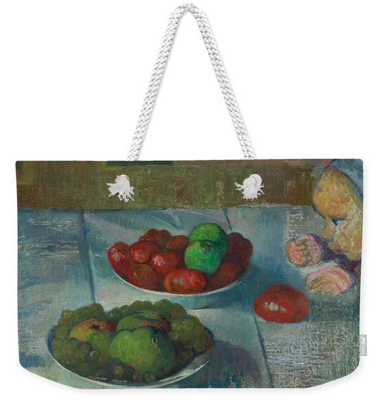 Still Life With A Profile Of Mimi Weekender Tote Bag
