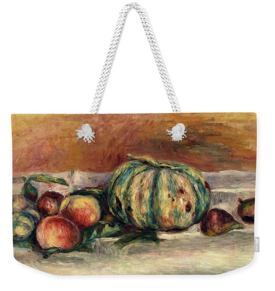 Still Life With Melon Weekender Tote Bag