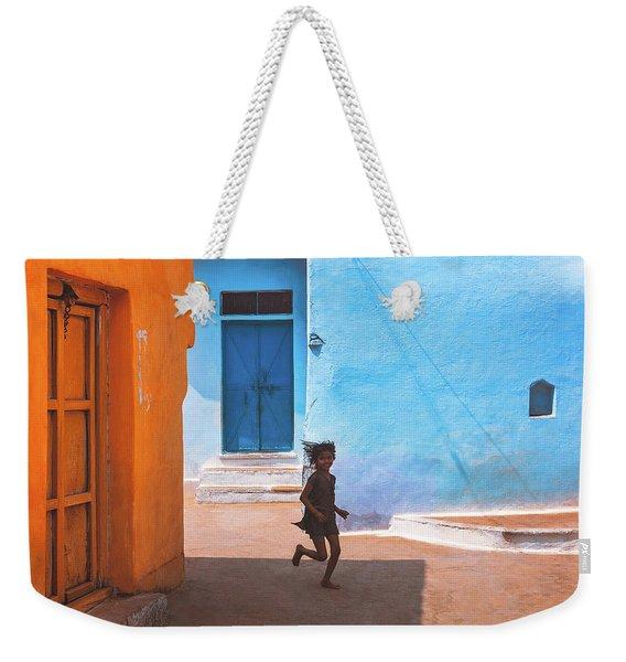 Streetcorner Weekender Tote Bag