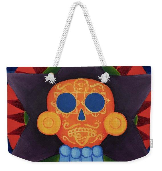 Sunface Weekender Tote Bag