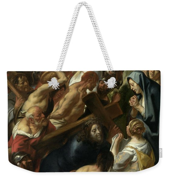 The Carrying Of The Cross, 1657 Weekender Tote Bag