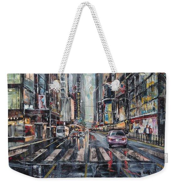 The City Rhythm Weekender Tote Bag