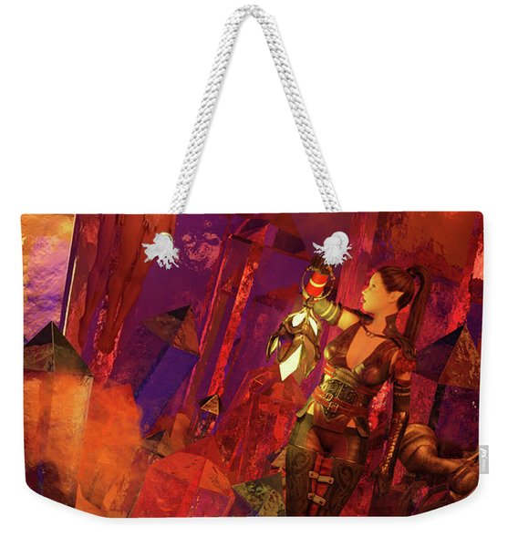 The Discovery Weekender Tote Bag