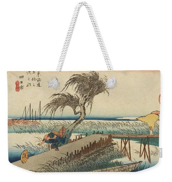 The Hurricane Weekender Tote Bag