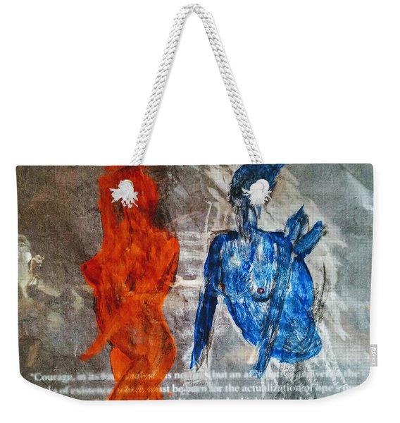 The Immolation Weekender Tote Bag