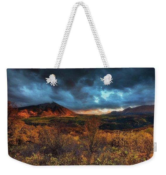 The Last Light Weekender Tote Bag