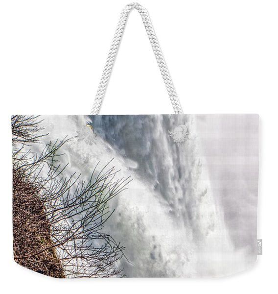 The Mighty Niagara Falls Weekender Tote Bag
