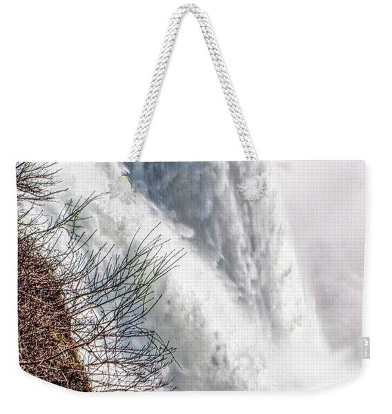 The Mighty Niagara Falls Weekender Tote Bag