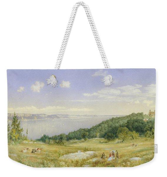 The Palisades Weekender Tote Bag