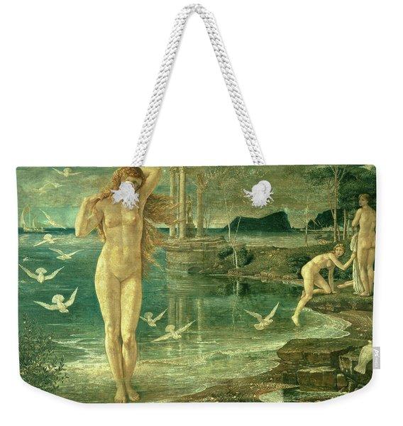 The Renaissance Of Venus Weekender Tote Bag