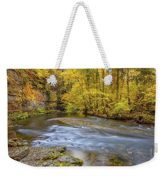 The Wutach Gorge Weekender Tote Bag