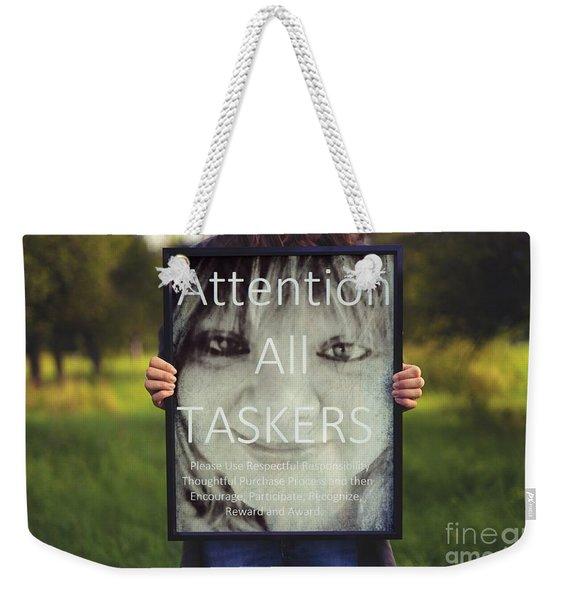 Thebroadcastmonkey Weekender Tote Bag