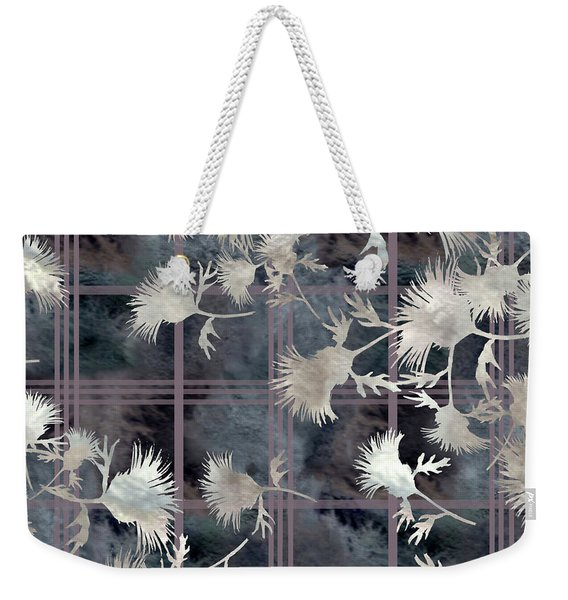 Thistle Plaid  Weekender Tote Bag