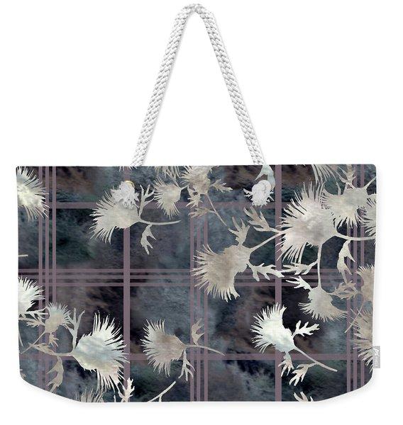 Thistle Plaid  Weekender Tote Bag