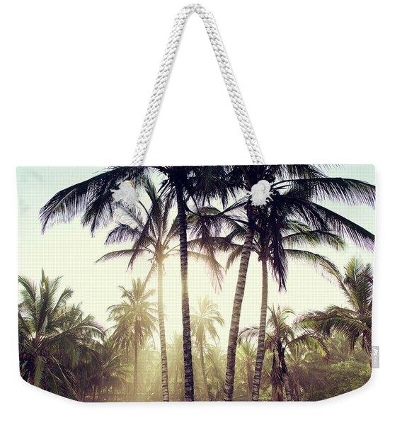 Ticla Palms Weekender Tote Bag