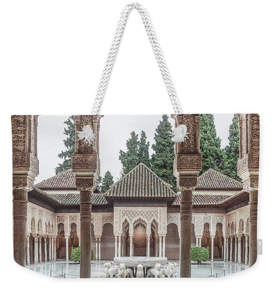 Time Temple Weekender Tote Bag