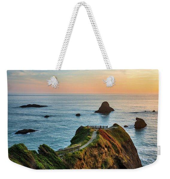 Trinidad Ocean Viewpoint Weekender Tote Bag