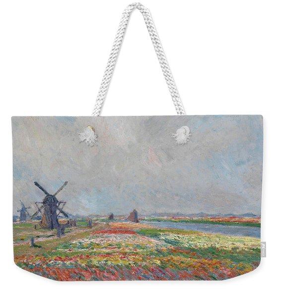 Tulip Fields Near The Hague Weekender Tote Bag