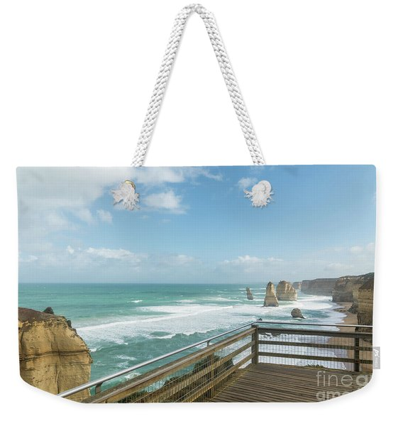 Twelve Apostles Sea Rocks Weekender Tote Bag
