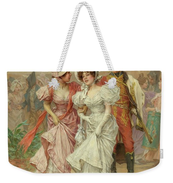 Two Strings To His Bow And The Fete At St. Cloud, 19th Century Weekender Tote Bag