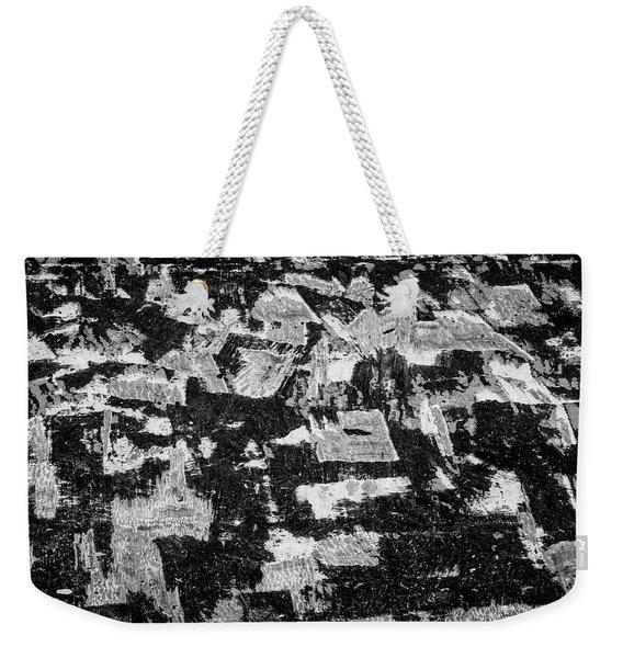 Untitled Ix Bw Weekender Tote Bag