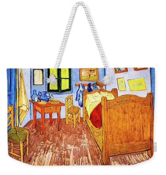 Van Gogh's Bedroom Weekender Tote Bag
